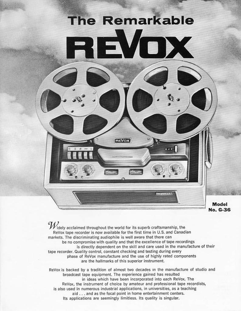 Dolfi hi-fi - Revox G36