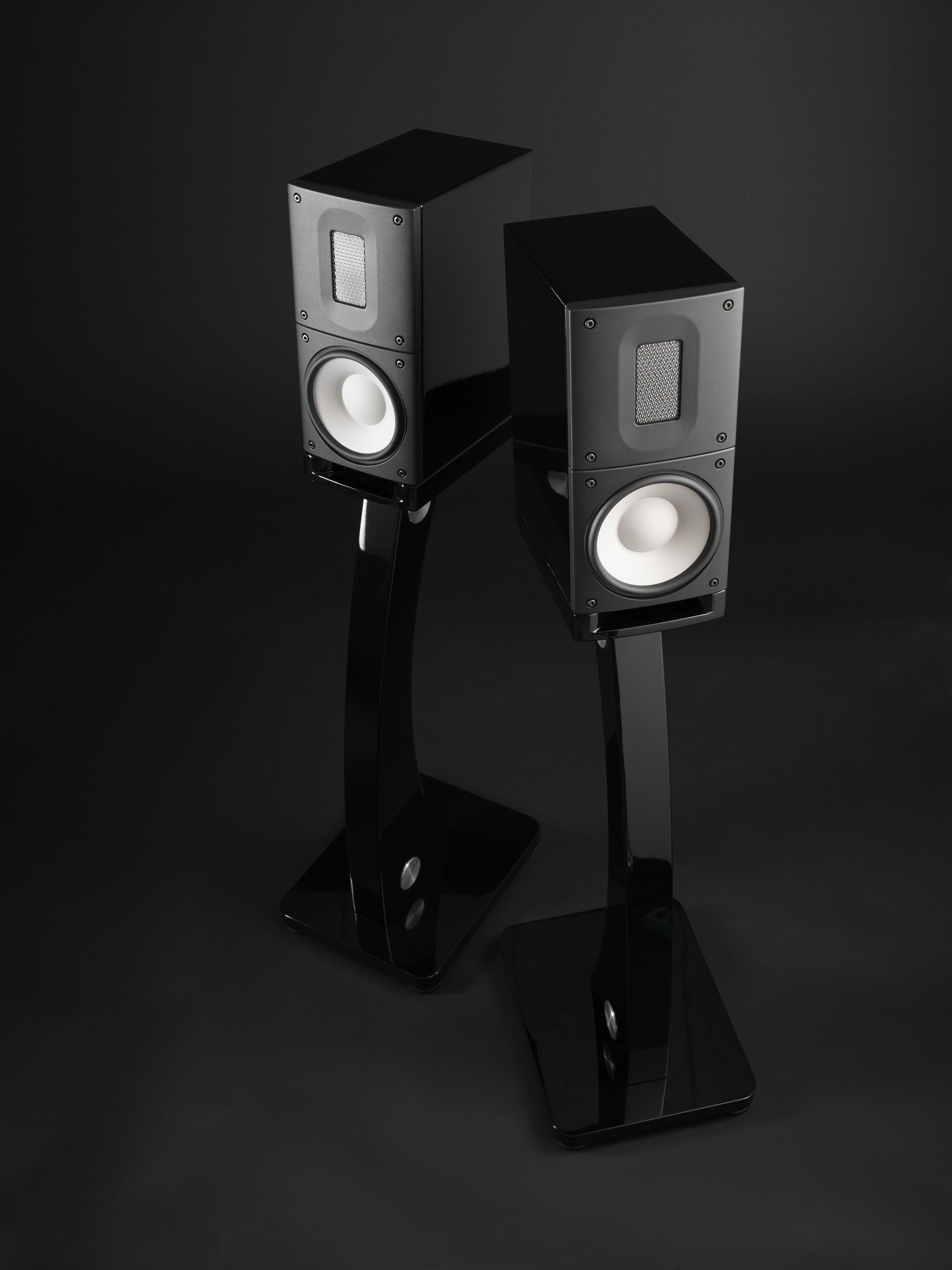 Coppia casse acustiche raidho x1 complete di stand a pavimento dolfi hi fi firenze vendita e - Casse acustiche design ...