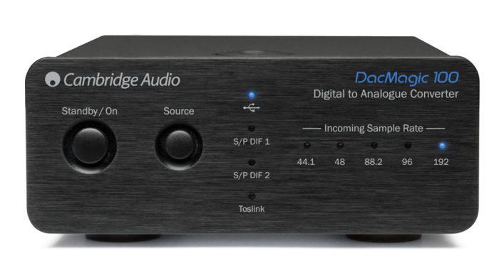 Un DAC di elevata qualità in un cabinet minimo (le stesse dimensioni di un iD100) - 1 x USB, 1 x Optical, 2 x S/PDIF - L'ingresso USB accetta 24/96 native e fino a 24/192 con driver separato installato sul PC (donwload gratuito dal sito Cambridge) - DAC Wolfson WM8740 - Uscite phono RCA dacmagic 100 dac magic 100 cambridge audio offerta promozione sconto scontato outlet dolfi hi-fi firenze toscana