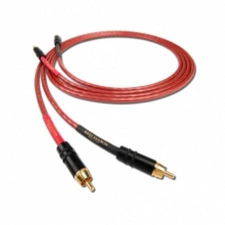 Nordost Flatline serie LEIF Red Dawn LS Cavo di interconnessione analogico schermato da 1 mt, 6 conduttori 24AWG argentati 99.999 OFC, guaina FEP offerta promozione sconto scontato outlet cavetto segnale xlr rca 2ph 2ph