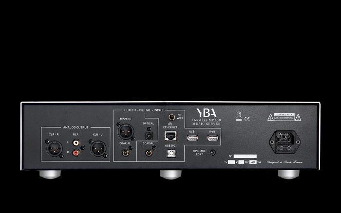 YBA Heritage Media Streamer MP100 Dolfi hifi Firenze