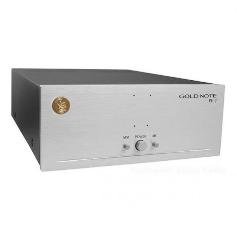 Gold Note PH7 phono preamplifier preamplificatore phono riaa giradischi turntable offerta sconto outlet dolfihifi dolfi firenze high-end hi-fi hifi