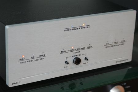 Convertitore DAC Gold Note DAC7 offerta sconto outlet dolfihifi dolfi firenze high-end hi-fi hifi