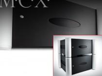 finale di potenza mono coppia amplificatori finali exposure MCX POWER APMPLIFIER poweramplifier ampio trasformatore toroidale e condensatori dedicati - circuito elettronico di protezione di sovraccarico, non invasivo promozione offerta sconto scontato outlet occasione firenze dolfi hi fi high end hi-fi integrated amplifier