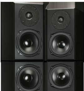 Coppia casse acustiche totem acoustic mite dolfi hi fi firenze vendita e permuta impianti hi - Casse acustiche design ...