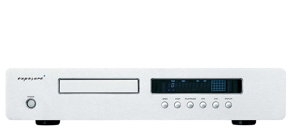 3010s2 cd player compact disc exposure DAC Dual Mono PCM 1704 24 bit - display spegnibile - circuitazione di uscita audio ottimizzata con stadi multipli di regolazione dell'alimentazione - ampio trasformatore toroidale con avvolgimenti separati per meccanica e stadi audio exposure offerta sconto outlet scontato occasione dolfihifi dolfi firenze high-end hi-fi hifi