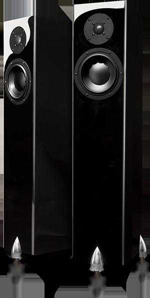 Coppia casse acustiche totem acoustic forest design dolfi hi fi firenze vendita e permuta - Casse acustiche design ...