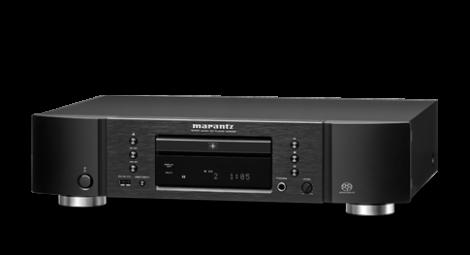 """SA8005 SA 8005 LETTORE CD COMPACT DISC SACD SUPERAUDIOCD SUPER AUDIO CD MARANTZ OFFERTA PROMOZIONE SCONTO SCONTATO OCCASIONE OUTLET DOLFI FIRENZE HI FI HIGH END TOSCANA ITALIA SA-CD, CD, CD-R/RW, Circuitazione HDAM-SA2, Nuovo convertitore D/A di elevata qualità a 192kHz/24bit (CS4398), Modalità DAC con tre ingressi digitali (USB-B, Coassiale, Ottico), Porta USB-B con funzionamento in modalità asincrona compatibile 192kHz/24 bit e DSD2.8 & 5.6Mhz, Componenti audio personalizzati, Clock di sistema di alta precisione, Piastra di fondo a doppio strato per un'elevata stabilità, Uscita analogiche L/R e coassiale digitale placcate oro, Ingresso USB-A certificato """"Made for iPhone/iPod"""", Supporta ricarica di iPad (5V/1A), Riproduzione di file WAV da ingresso USB-A, Due tipi di uscite digitali (Ottico /Coassiale), Cavo di alimentazione IEC separabile, Terminali Remote In/Out Marantz, Terminali di uscita indipendenti L/R (ampia distanza), Visualizzazione CD-TEXT/Metadati, Amplificatore per cuffia completamente discreto, Spegnimento automatico"""