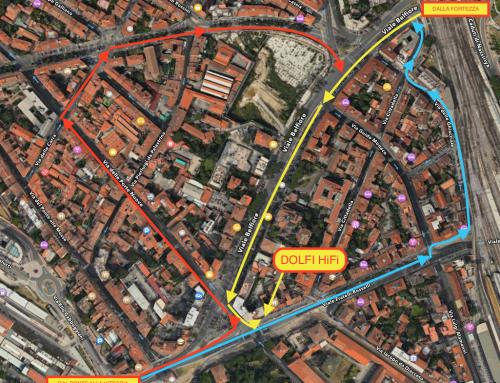 Come raggiungerci alla luce della nuova viabilità ( tramvia linea 2 )