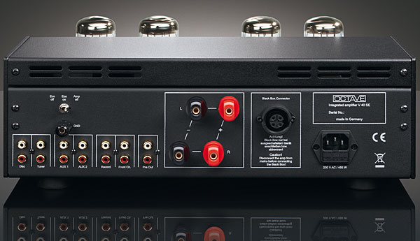 Ottave amplificatore a valvole integrato V40SE Ottave special edition dolfihifi dolfi hi- end dolfi hifi viale rosselli 23 firenze sconti prezzi speciali offerta