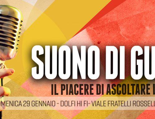 """IVa Edizione di """"SUONO DI GUSTO"""" a Firenze presso il nostro negozio."""