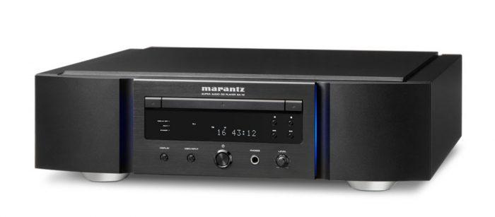 MARANTZ SA 10 SUPER AUDIO CD MARANTZ LETTORE CD COMPACT DISC SACD MARANTZ OFFERTA PROMOZIONE SCONTO SCONTATO OCCASIONE OUTLET DOLFI FIRENZE HI FI HIGH END TOSCANA ITALIA CD, CD-R/RW, MP3 e WMA, CD Text, DAC CS4398, HDAM SA2, Ingresso USB compatibile con iPod/iPhone e Harddisc USB, solida base in metallo e centralizzazione della meccanica CD per cancellare le vibrazioni, Auto Music Scan, Audio EX, Funzione di spegnimento display, Uscita cuffia, Uscite digitali coassiale ed ottica, Uscite RCA dorate, Marantz D-Bus, Cavo alimentazione separato, Telecomando