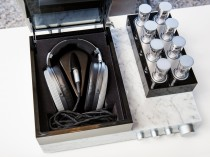 Firenze Toscana Italia Sennheiser Orpheus Headphones Amplifier HE1 HE 1 cuffia cuffie marmo carrara