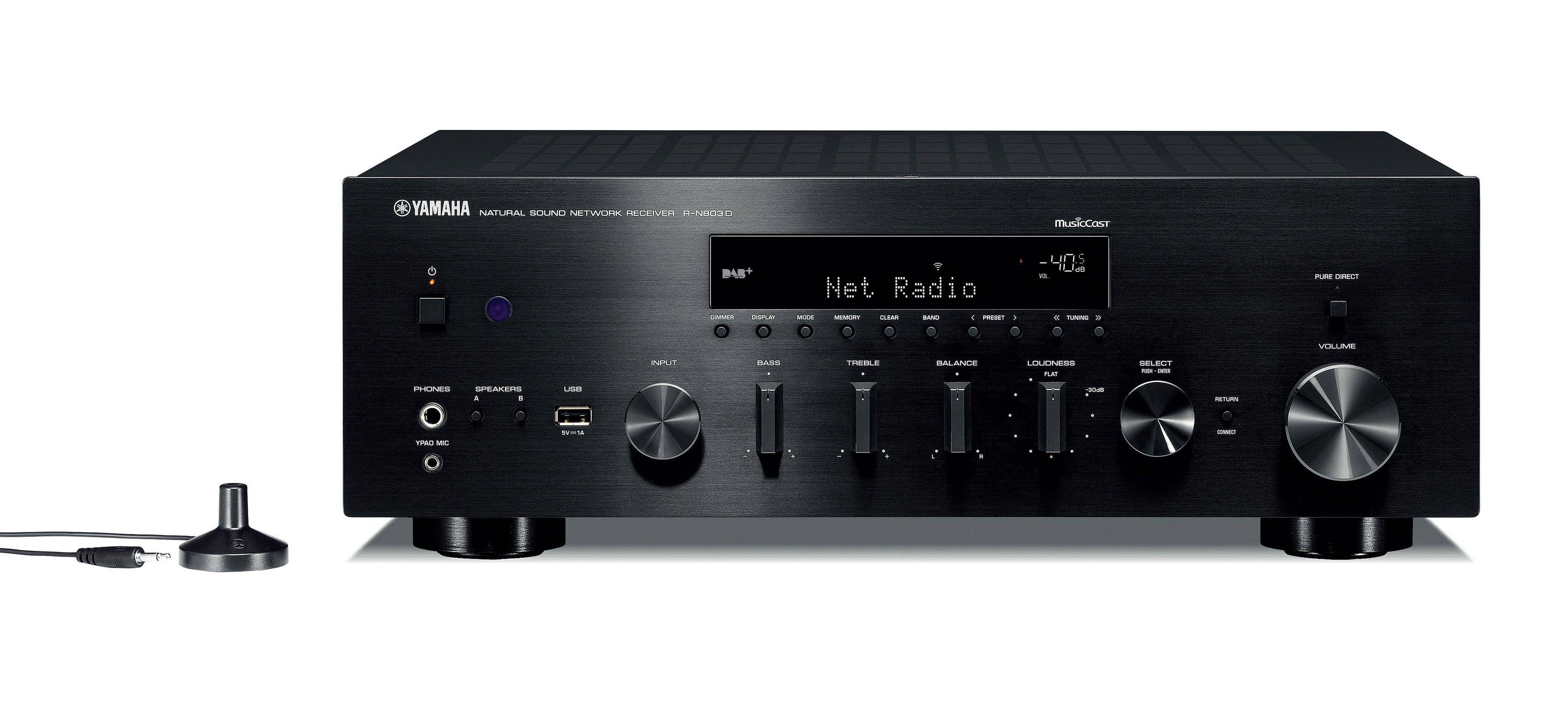 Yamaha rn803d musiccast sintoamplificatore stereo streamer e network player dolfi hi fi - Impianto wi fi per casa ...