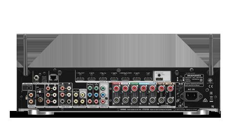 SINTOAMPLIFICATORI MARANTZ NR1608 AMPLIFICATORE FINALE DI POTENZA STEREO MONO Proiettore sonoro digitale di rete LOUDSPEAKER MULTIMEDIA & STREAMING WIFI WI-FI WI FI WIRELESS SPEAKER streamer audiovideo Audio MODULO FM DAB FM/DAB+ alimentazione FM TUNER PREAMPLI PREAMPLIFICATORE STEREO STADIO PHONO MULTIMEDIA WIRELESS SPEAKERS PROEITTORE SONORO CANALE CENTRALE LETTORE CD COMPACT DISC SINTONIZZATORE SINTOAMPLI SINTOAMPLIFICATORE AV A/V AUDIO VIDEO AMPLIFICATORE INTEGRATO sistema audio integrato INTEGRATED AMPLIFIER COPPIA DIFFUSORE ACUSTICO DIFFUSORI ACUSTICI CASSA ACUSTICA CASSE ACUSTICHE AUDIO/VIDEO RIBASSI OFFERTA PROMOZIONE SCONTO SCONTATO OCCASIONE OUTLET DOLFI HI-FI FIRENZE HI FI FIDELITY HIGH END TOSCANA ITALIA Telaio di altezza ridotta, 7x 90 Watt (6 ohm, 1%), WiFi, Bluetooth, Dolby TrueHD, DTS HD Dolby Atmos (5.1.2), DTS:X, Audyssey MultEQ, HDMI 2.0 (4k full rate), 7+1in / 1out HDMI (3D / ARC), HDCP 2.2, Video pass through, GUI sovraimpressa, scaling fino a 4k (half rate), Conversione da analogica a HDMI, Streaming di rete per audio e foto, Riproduzione di file Apple lossless, Gapless, FLAC HD 192/24, DSD, AIFF; ALAC, AirPlay, Spotify Connect, Internet radio, S/G Ingresso USB compatibile iPod/iPhone, M-DAX2, Multi room/Multi sorgente, RC, Smart Select, Modalità ECO