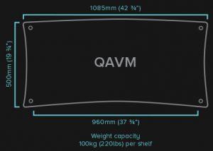 QAVM-HiFi-Rack-Specifications-QAVM-HiFi-Rack quadraspire qavm audiovideo dolfi hifi dolfihifi sconto offerta firenze