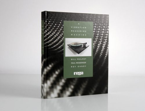 Libro di Roy Gandy (Rega Research):  A Vibration Measuring Machine