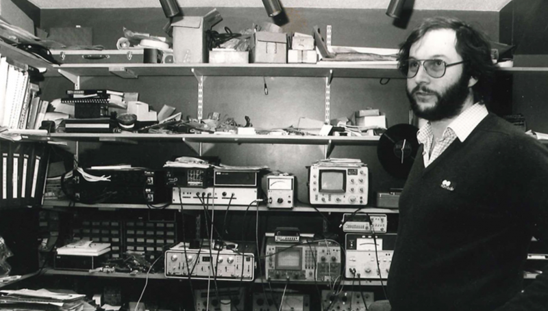 Julian Vereker fondatore della Naim Audio