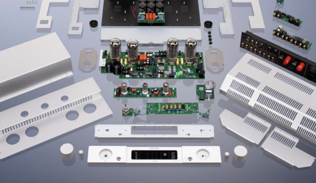 Octave audio parti meccaniche ed elettroniche